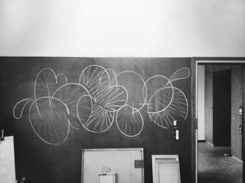 Grafitti |throwup | chalk |room