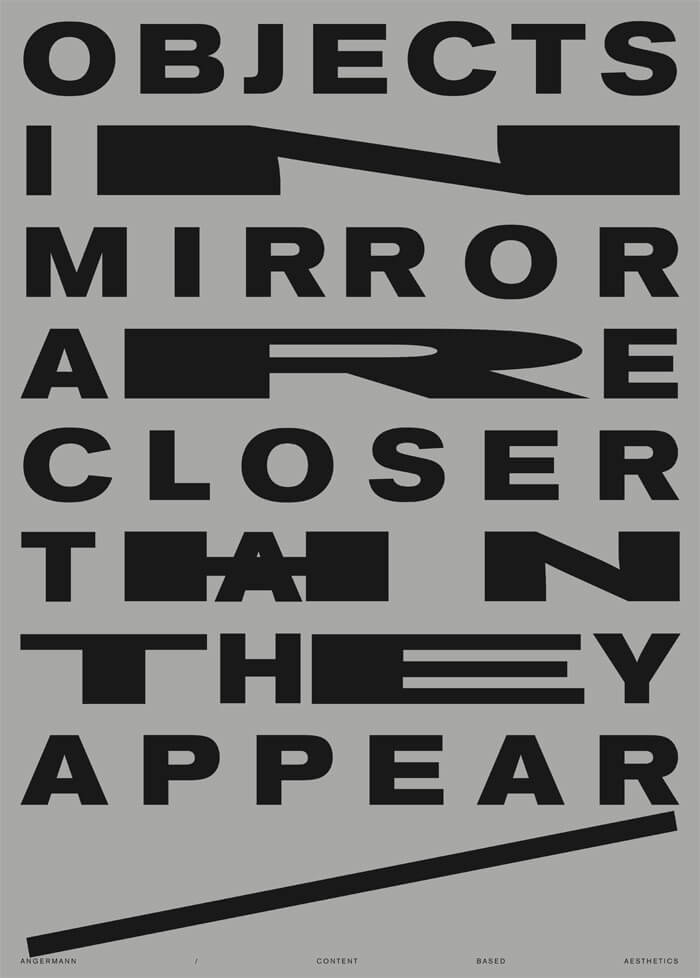 objects_in_mirror oimactta Plakat