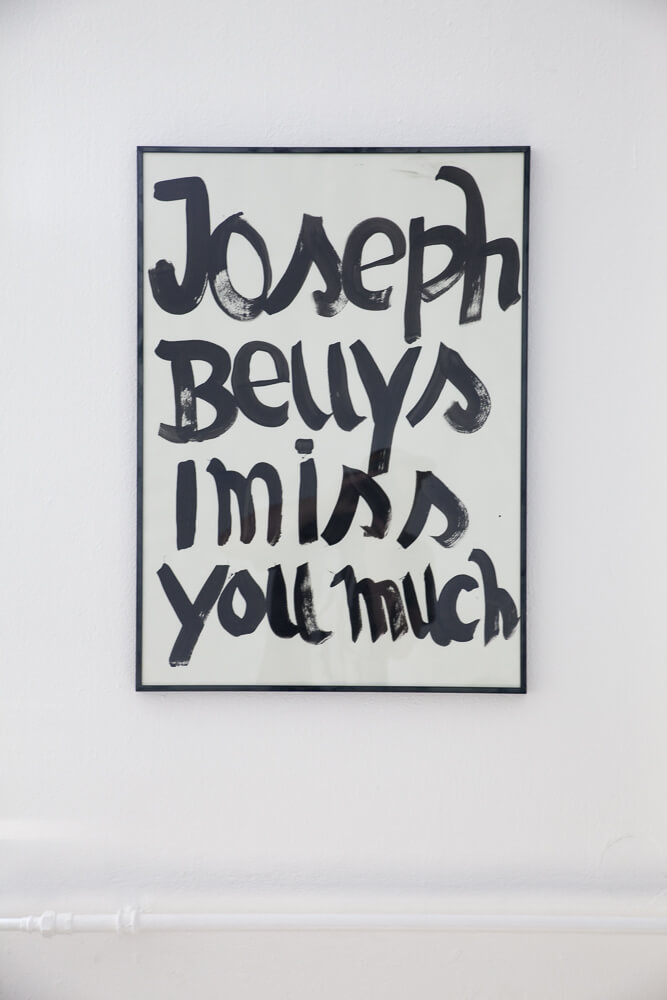 Daniel Angermann – Beuys wird vermisst / Zeichnung Beuys vermisst