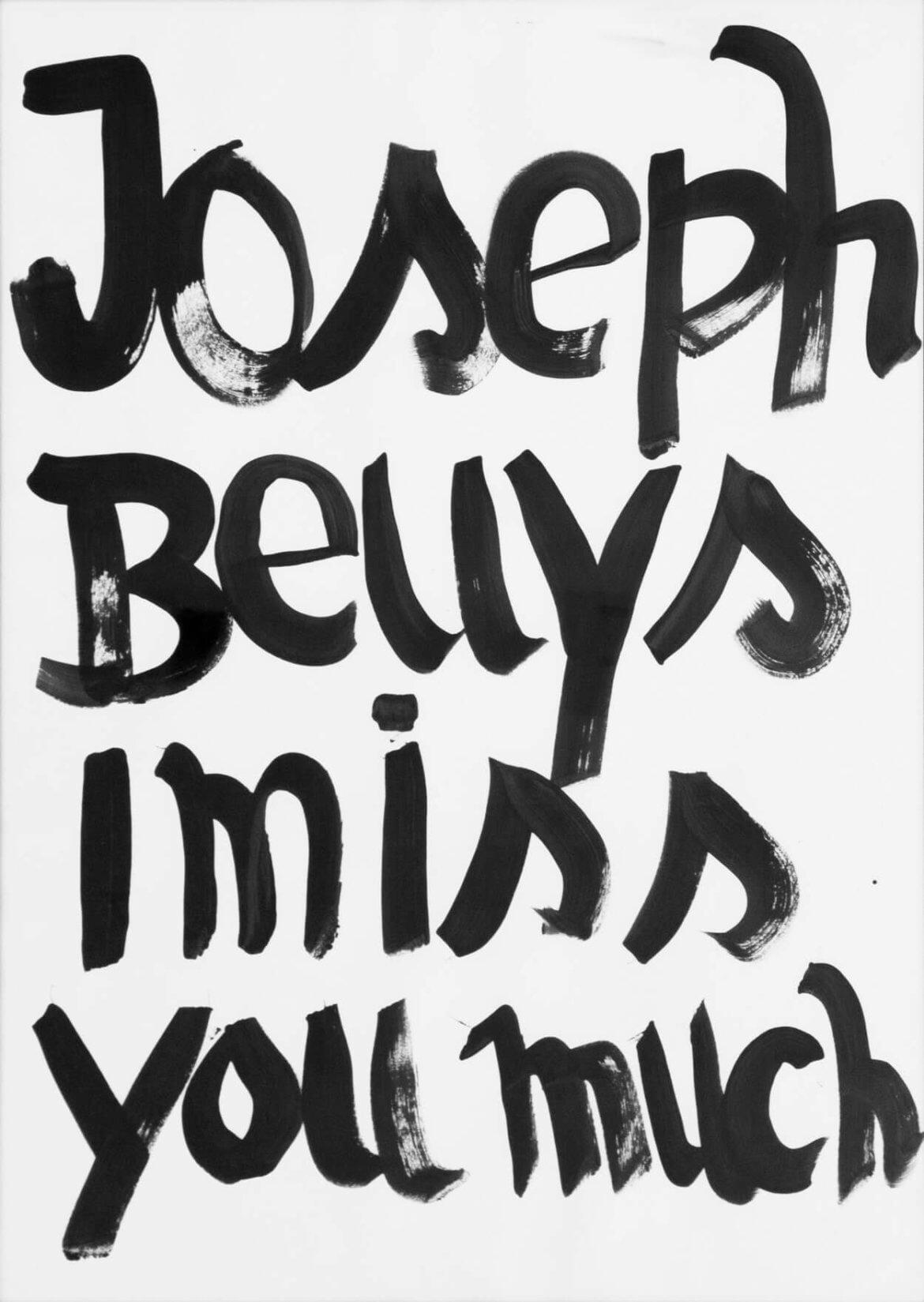 Daniel_Angermann_Beuys_i_miss_you_much Beuys vermisst