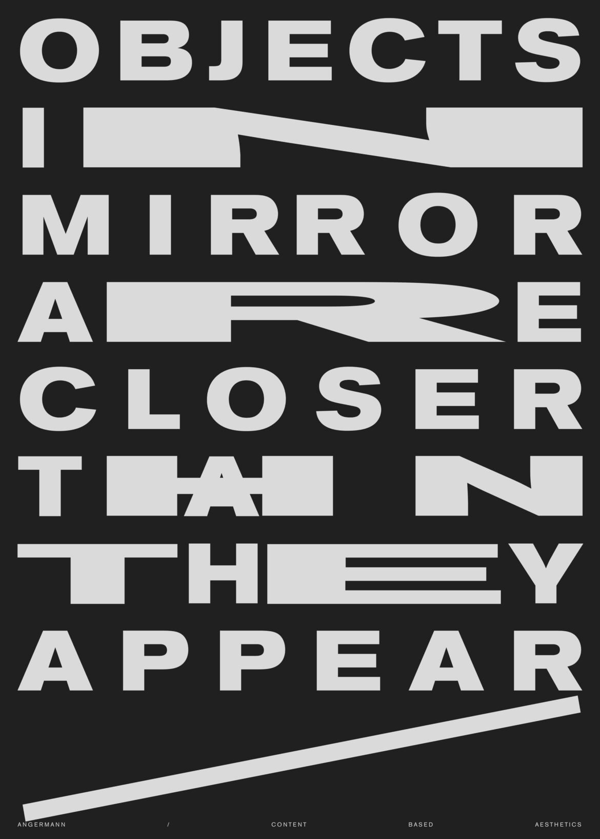 Daniel_Angermann_design_objects_in_mirror_poster oimactta Plakat