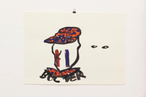 Daniel Angermann– Bolder Zeichnung