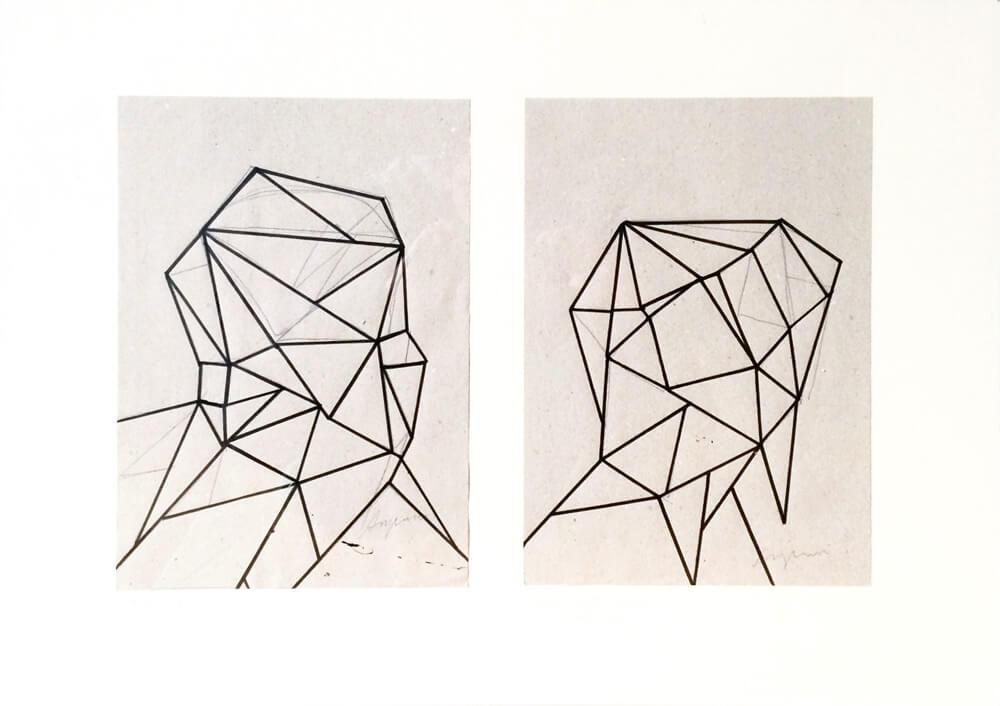Daniel Angermann – Zeichnung Linear