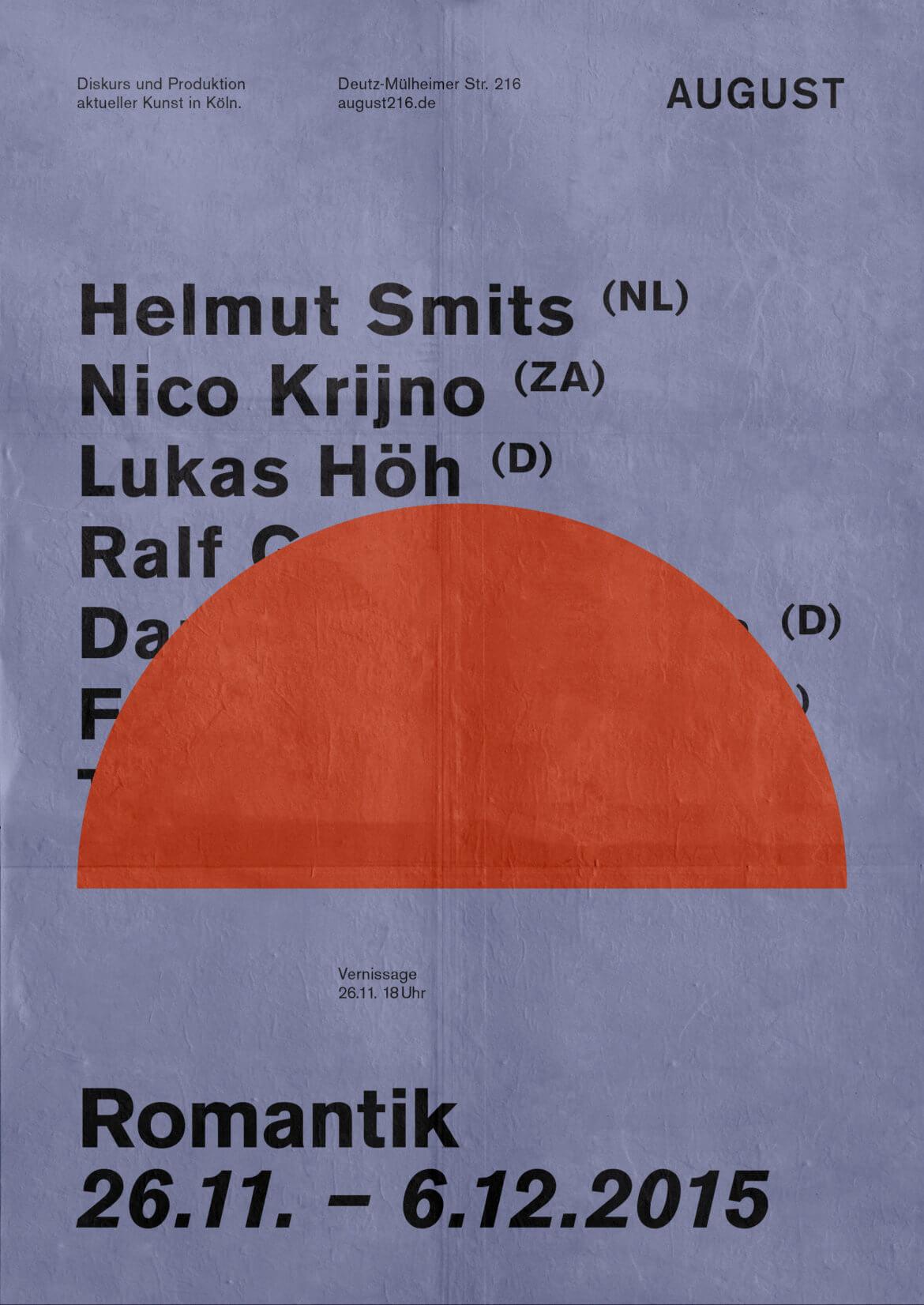 Plakat |Veranstaltung | Design | Romantik | Ausstellung