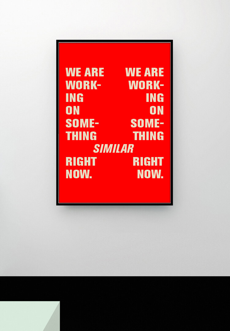 Poster | Design | Red | Typography