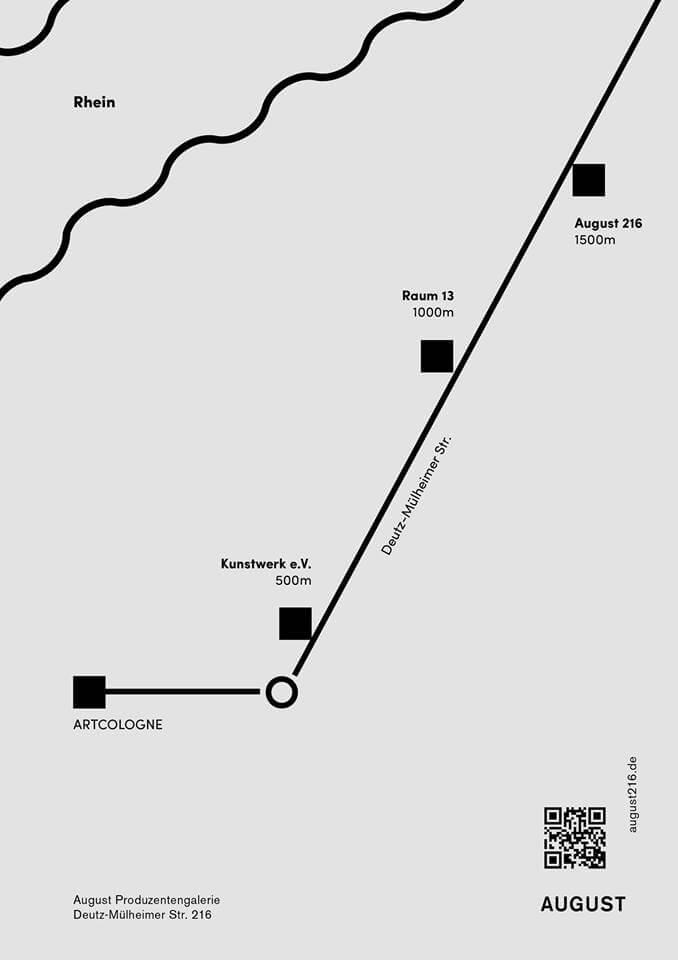 August_Produzentengalerie_Art_Cologne_Route_Deutz_Muelheim Hannah Sophie Dunkelberg & Malte Bartsch