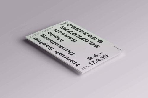 Flyer | Typography |Art