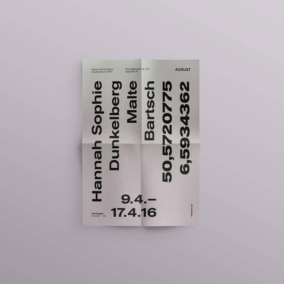 Daniel_Angermann_exhibition_stationery_2_malte_bartsch_art_cologne_2016 Hannah Sophie Dunkelberg & Malte Bartsch