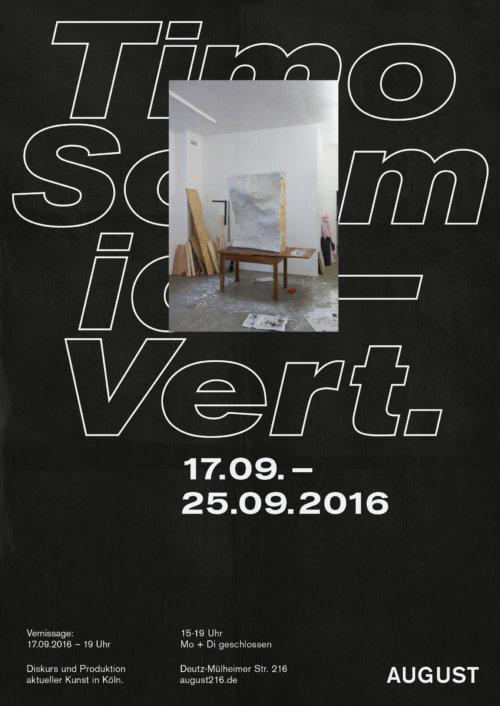 Poster |Veranstaltung | Design | Timo Schmidt | Ausstellung | Typografie