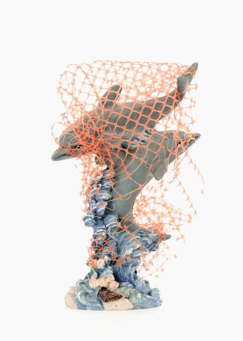 Dolphins |Sculpture | Art | Marine Debris
