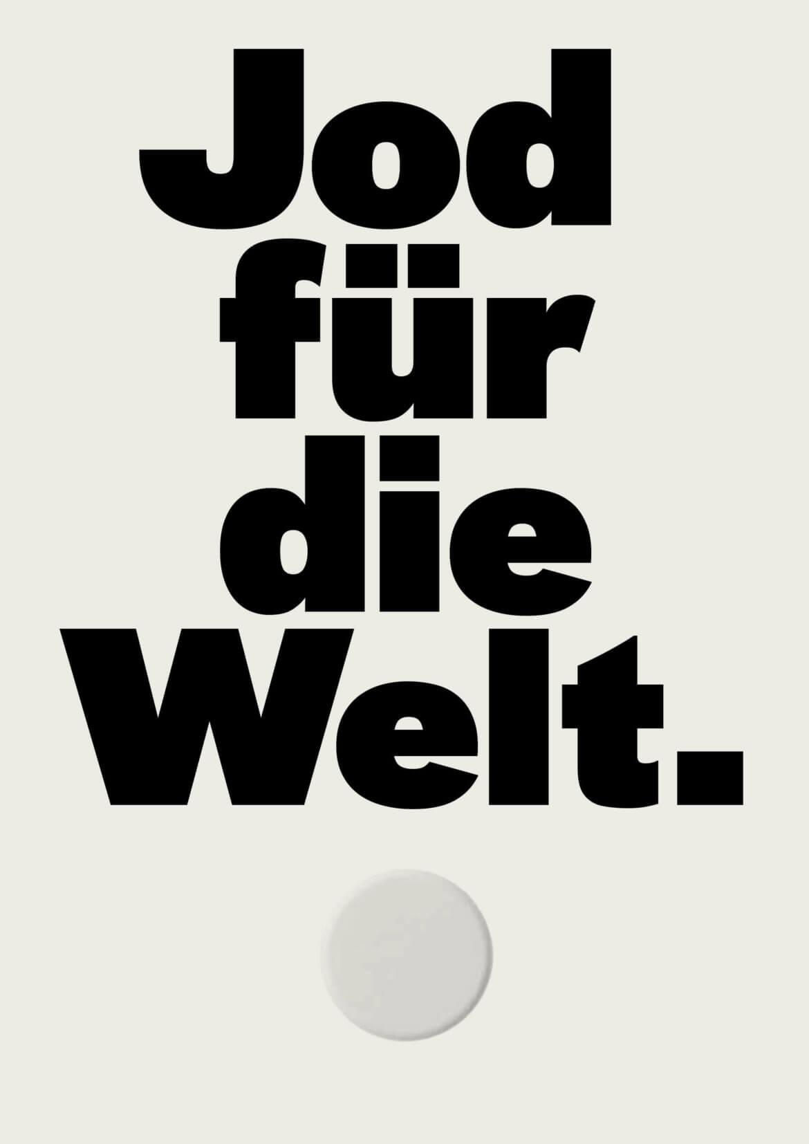 Daniel Angermann – Jod für die Welt Poster