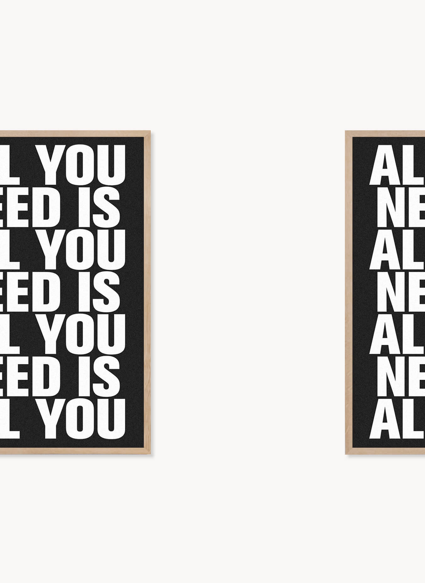 Daniel_Angermann_All_you_need_Poster All you need is all you