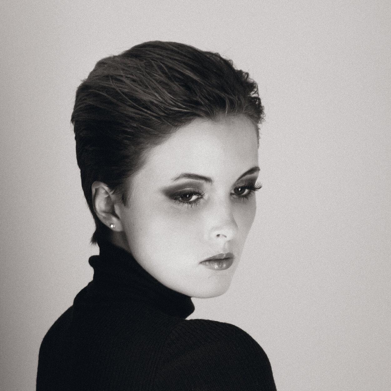 Portrait |Frau | Schwarz weiß