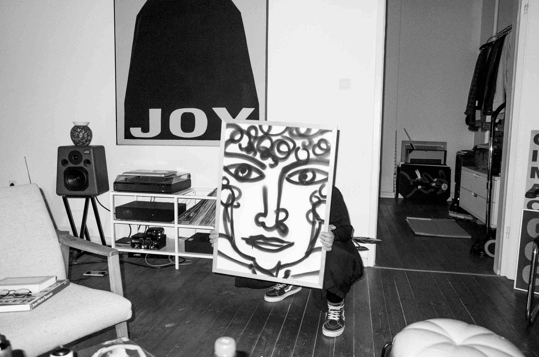 parissa_chargi_portrait_daniel_angermann_painting Parissa Charghi