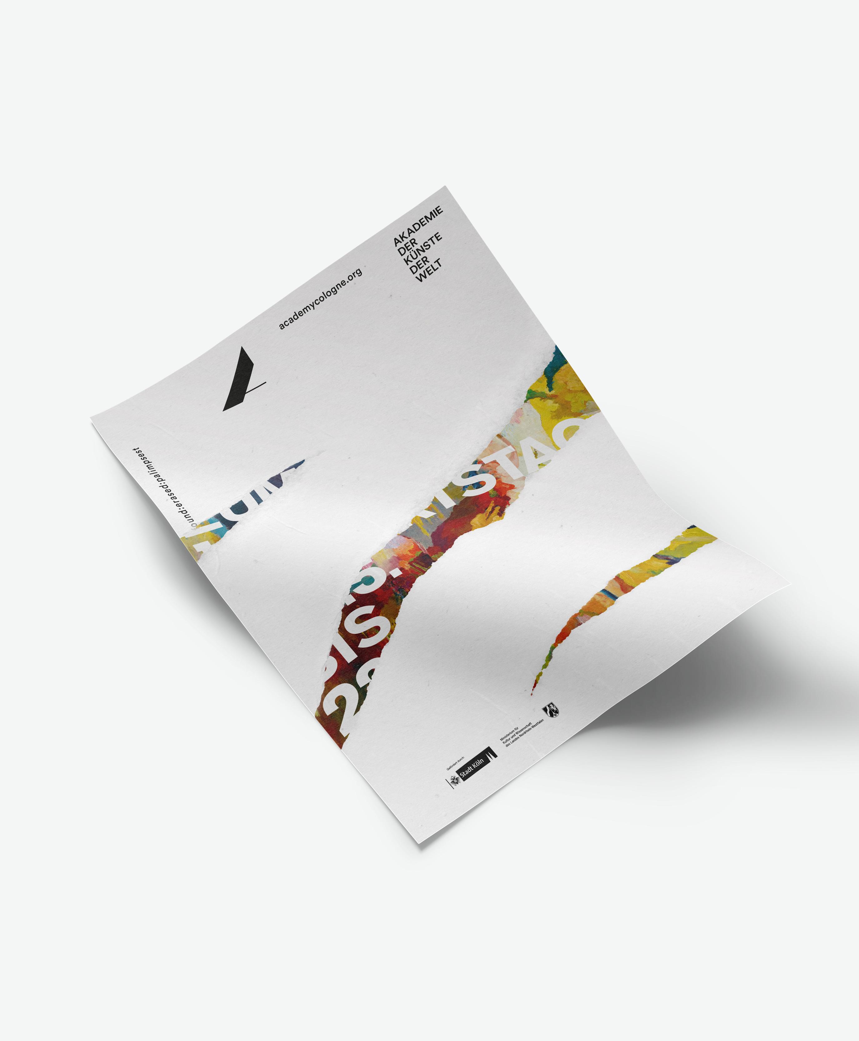 Buero_Freiheit_Akademie_der_Kuenste_der_Welt_Kampagne_Poster_found_erased_palimpset_Museum_Ludwig_1 Akademie der Künste der Welt / Köln