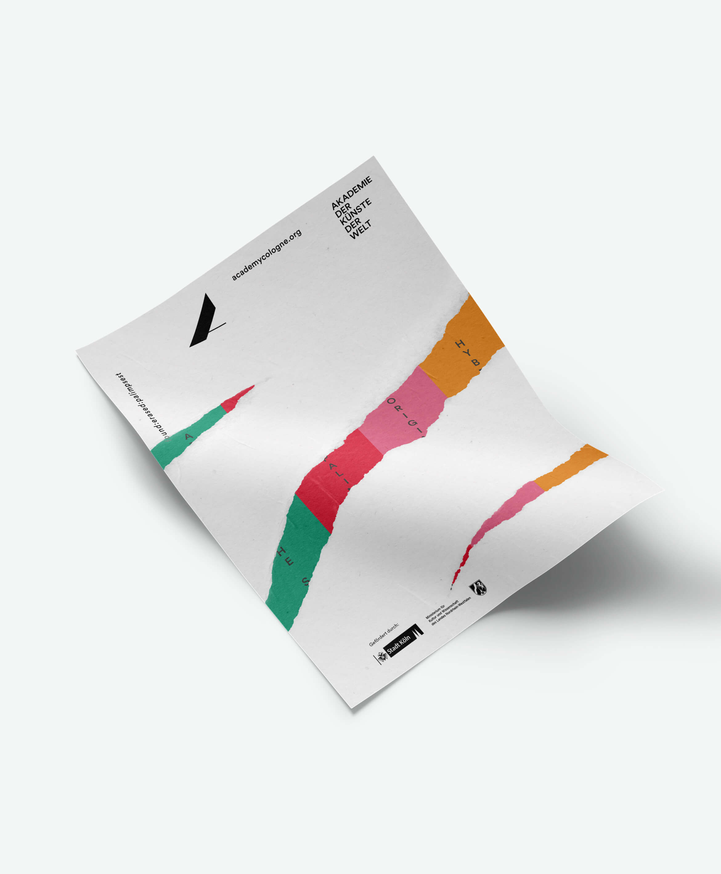 Buero_Freiheit_Akademie_der_Kuenste_der_Welt_Kampagne_Poster_found_erased_palimpset_Plakat_2 Akademie der Künste der Welt / Köln