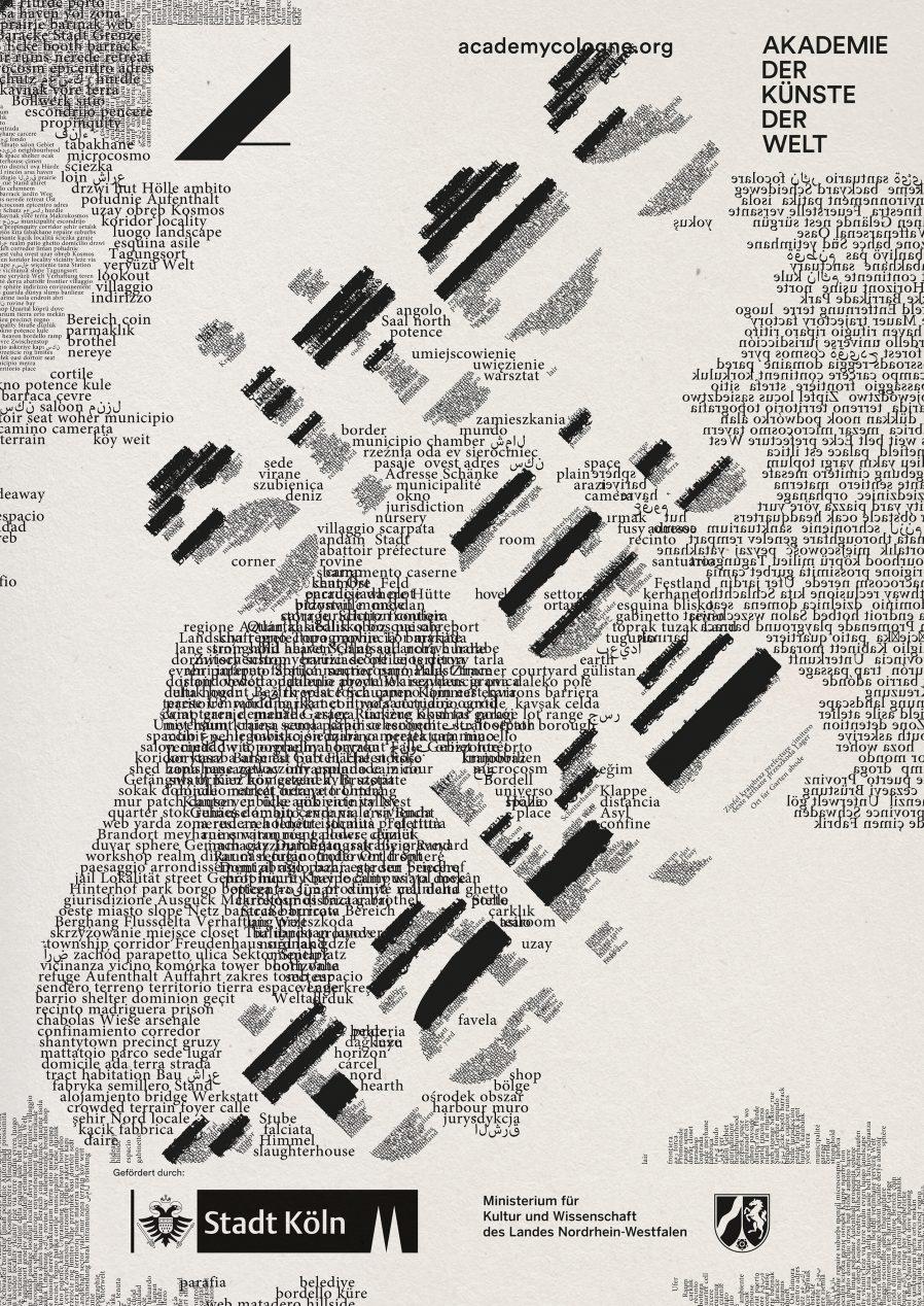 Mehrsprachig | Plakat | bilingual |Design | Typografie