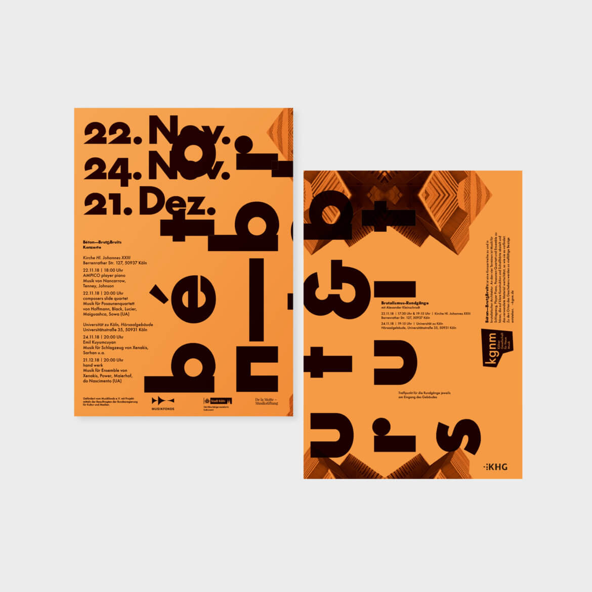 Daniel Angermann – kgnm Posterdesign Bèton – brut & bruits 4