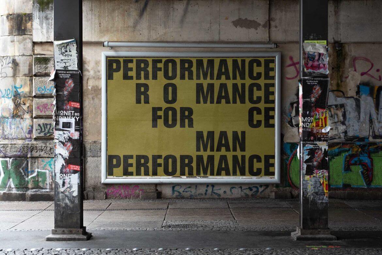 Artwork | Urban | Performance | Mensch | Plakat