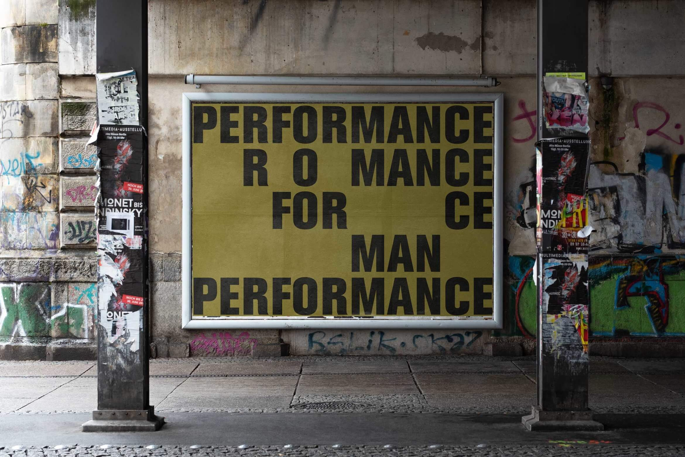 Artwork | Urban | Performance | Mensch | Textbased