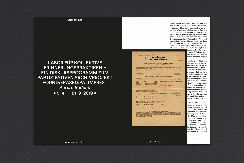 Akademie_der_Kuenste_der_Welt_Buero_Freiheit_Booklet_Design_Kampagne_Be_a_public_hostorian_Memory_Lab0 Be a public historian