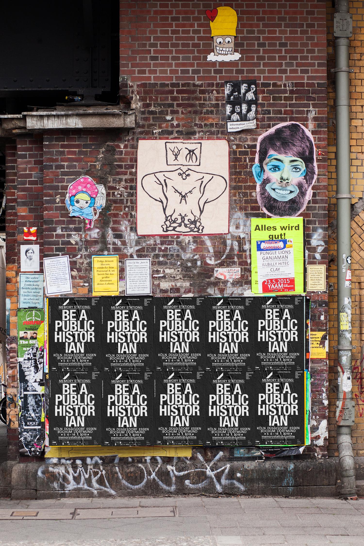 Akademie_der_Kuenste_der_Welt_Buero_Freiheit_Poster_Design_Kampagne_Be_a_public_hostorian2 Be a public historian