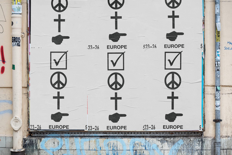 European Elections | Europawahl | Posterdesign | Street
