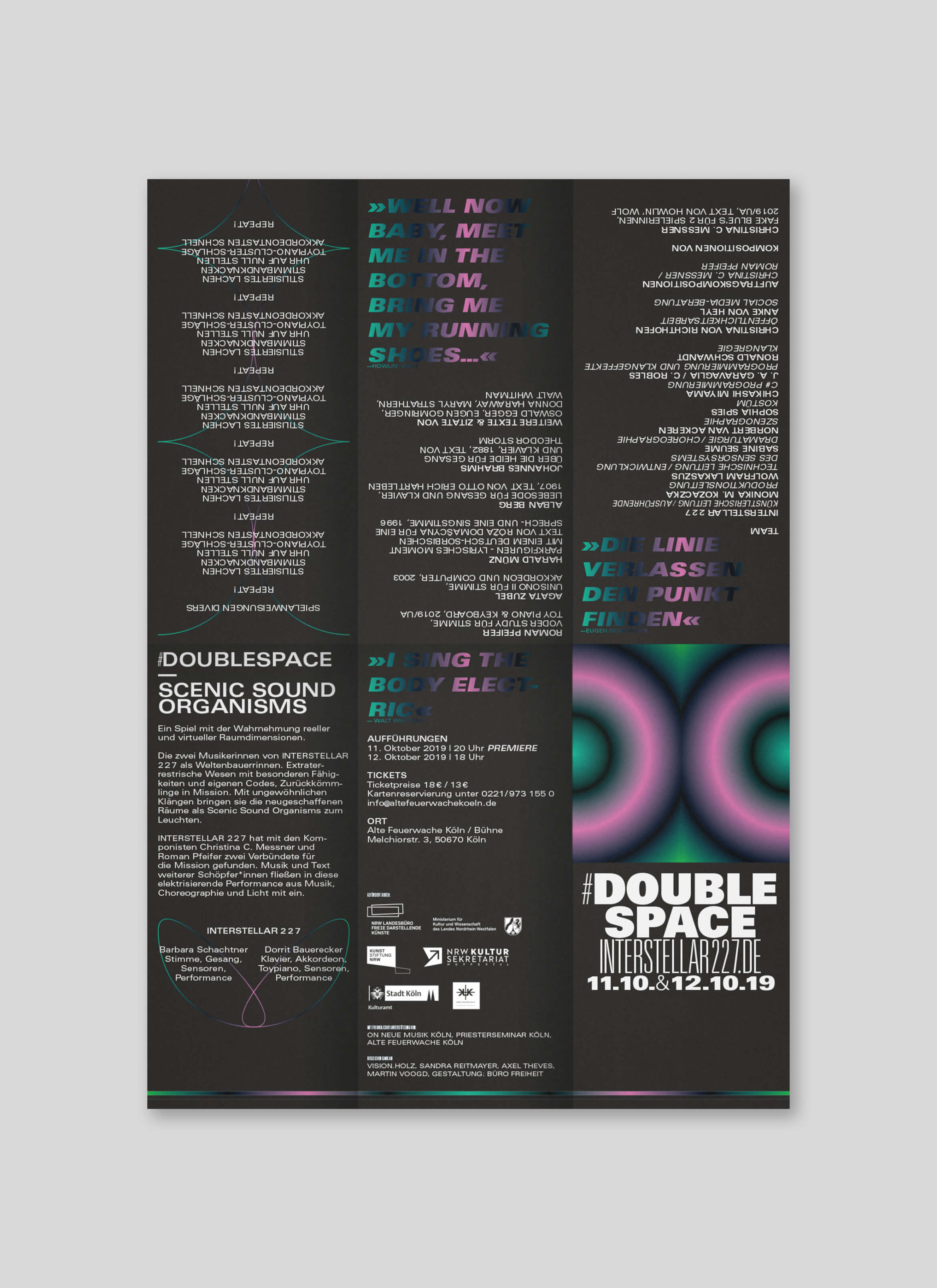 Programmflyer | Design | Köln | Art
