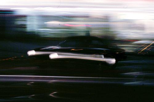 Citroen |Auto | Nacht | Langzeitbelichtung