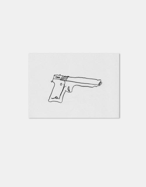 Pistole | Zeichnung |Papier | Art