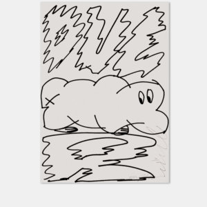 Raupe   Typografie   Original  Zeichnung