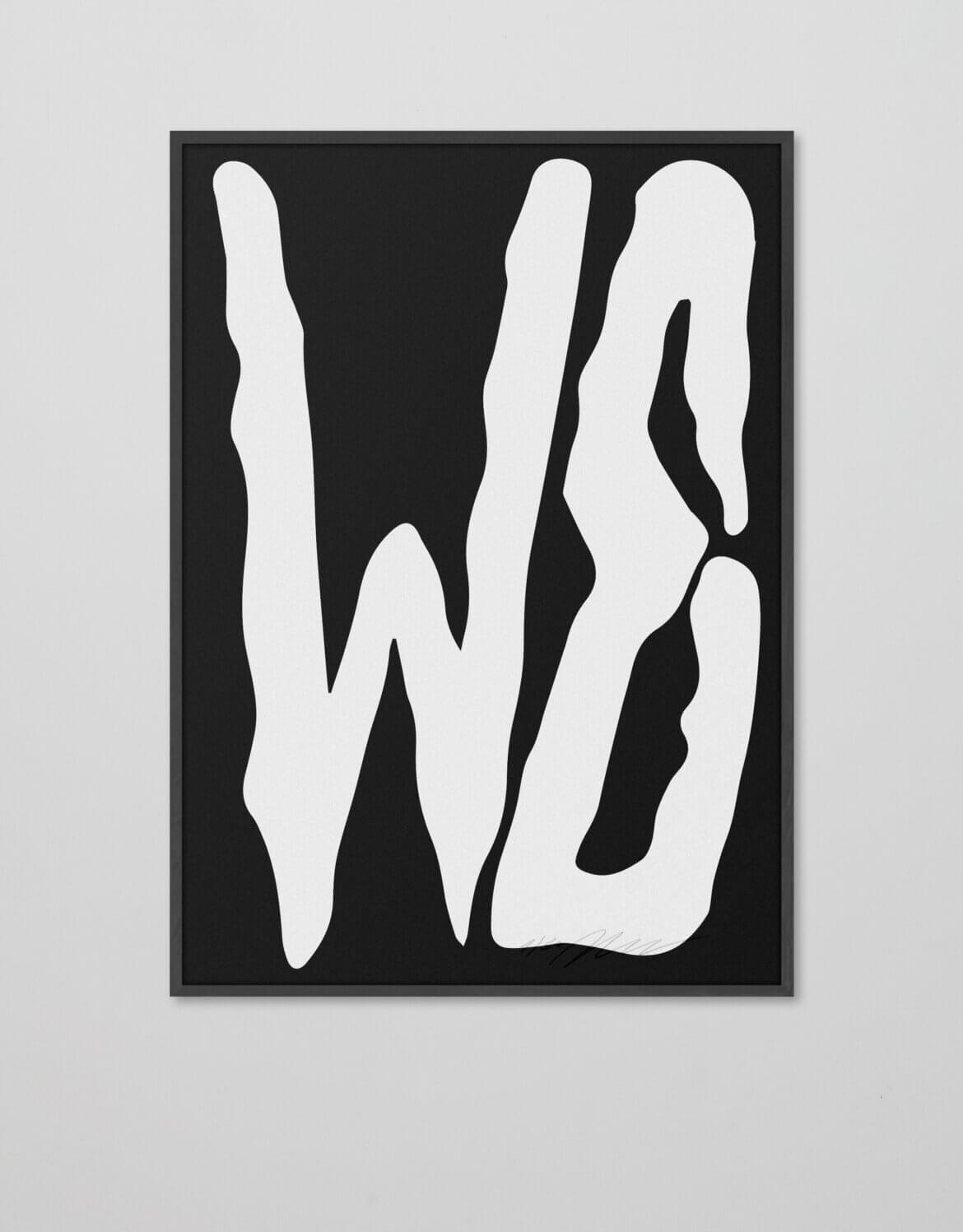 WE |Plakat | Angermann |Köln | Typografie