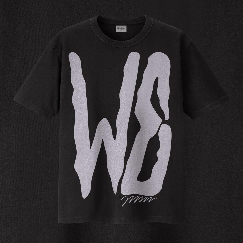 T Shirt | Siebdruck | WE | Schwarz |Schrift
