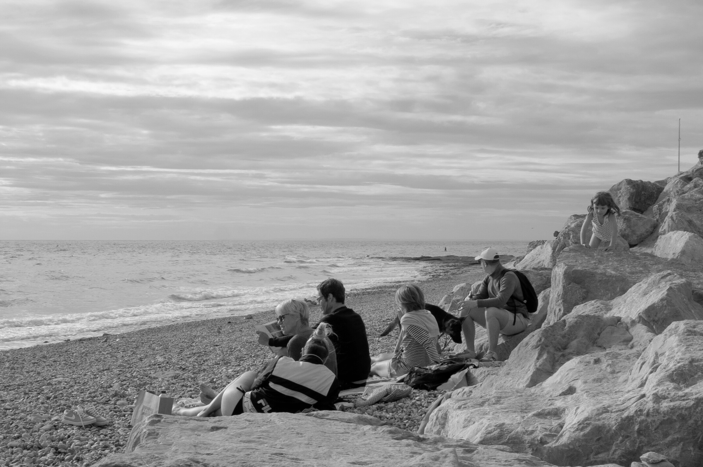 French | People | Sea