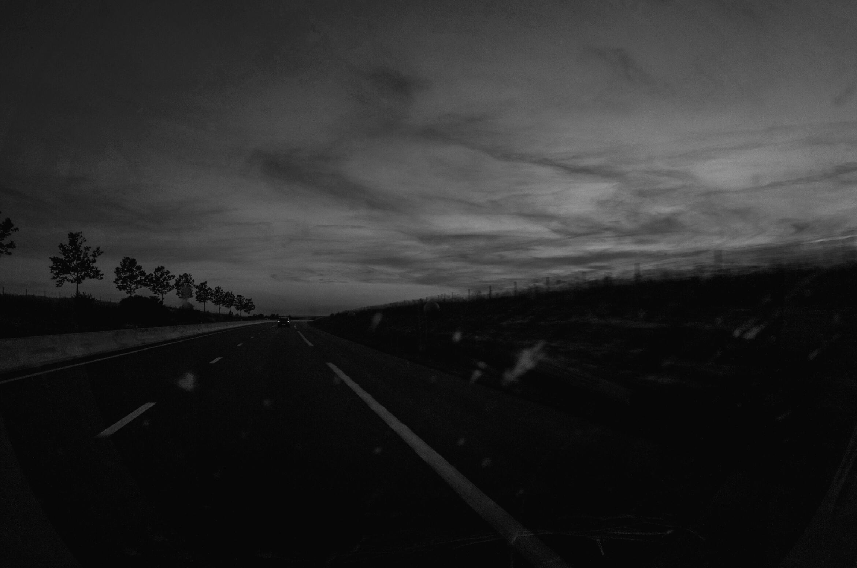 Street | Light | Dark | Trees