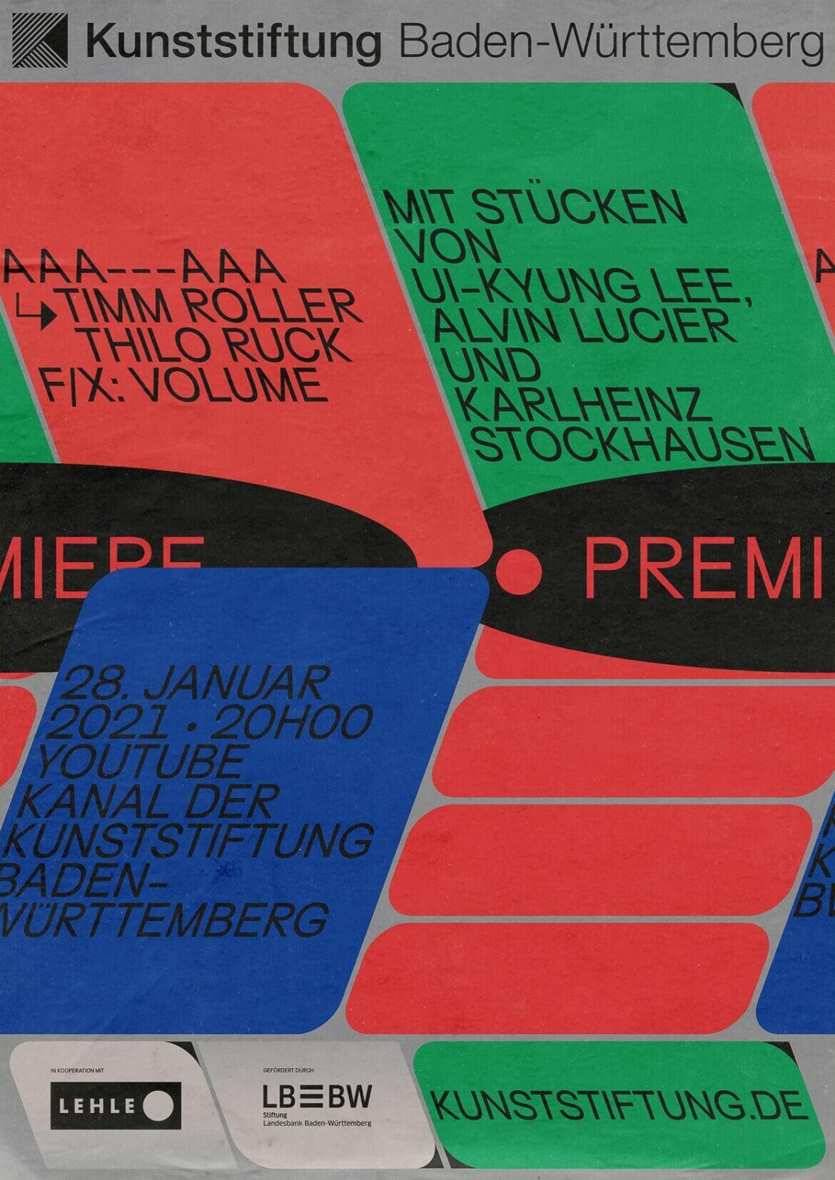 Plakat | Typografie | Unterführung